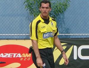 Felipe Varejão, árbitro capixaba da CBF (Foto: Sidney Magno Novo/Globoesporte.com)