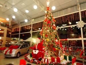 Carro avaliado em cerca de R$ 47 mil será sorteado no shopping da região oeste. (Foto: Marcele Antunes/ASCOM Ibituruna Center)