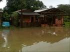Nível do rio Calçoene sobe e atinge quase 200 famílias, diz Defesa Civil