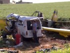 Sobe para 6 o número de mortos de Kombi atingida por avião no Paraná