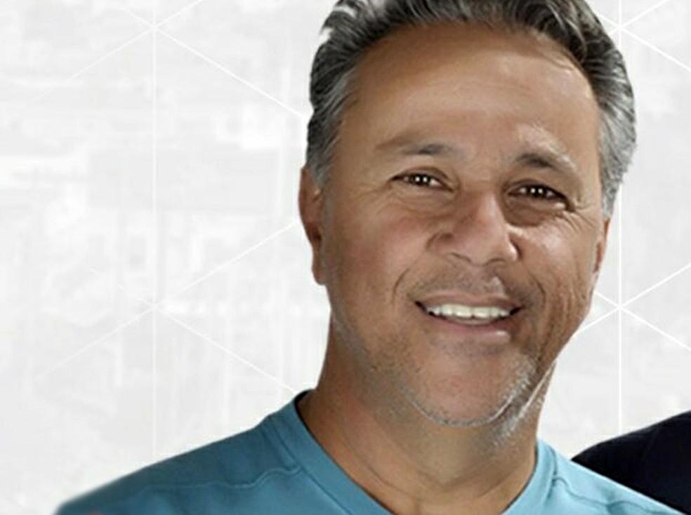 Nilson Pereira Toledo Filho, de 59 anos, foi 2º colocado na eleição 2016 para prefeito de Borda da Mata, MG (Foto: Reprodução/Facebook/Nilsinho Toledo)