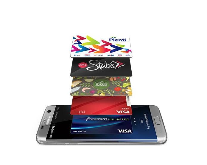 Com Samsung Pay, usuários podem pagar compras usando o celular (Foto: Reprodução/Samsung)