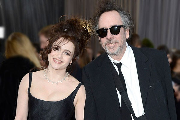Tim Burton e Helena Bonham Carter (Foto: Getty Images)