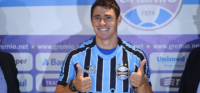 giuliano  Grêmio (Foto: Lucas Uebel/Grêmio)