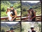 Paris Hilton faz programa radical com o namorado no Havaí