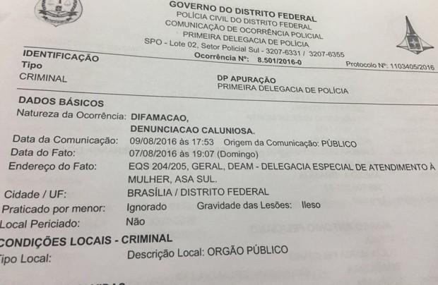 PSC registra ocorrência contra jovem que acusa Marco Feliciano (PSC-SP) de abuso sexual (Foto: Reprodução)