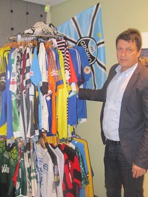 entrevista Adilson (Foto: Alexandre Lozetti / Globoesporte.com)