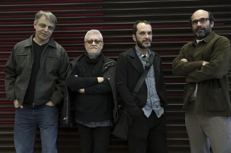 érgio Goldenberg, Walter Carvalho, José Luiz Villamarim e George Moura (Foto: Divulgação)