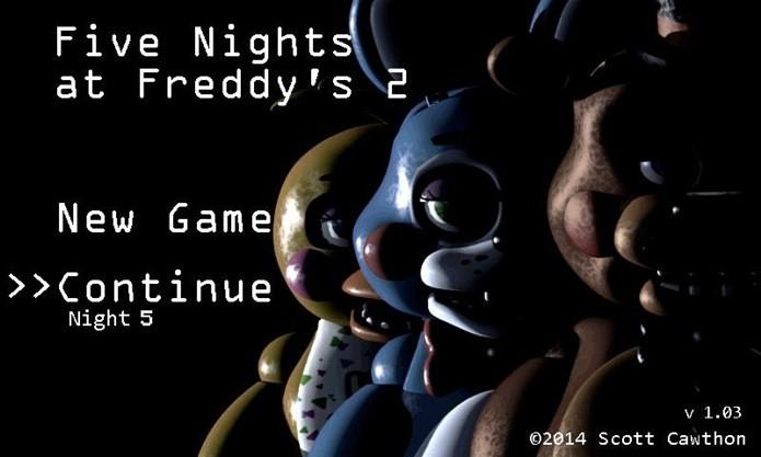 Five Nights at Freddy's 2 é um jogo simples e aterrorizante (Foto: Divulgação)