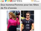 Anúncio erótico francês usa fotos de Malvino Salvador e Geisy Arruda