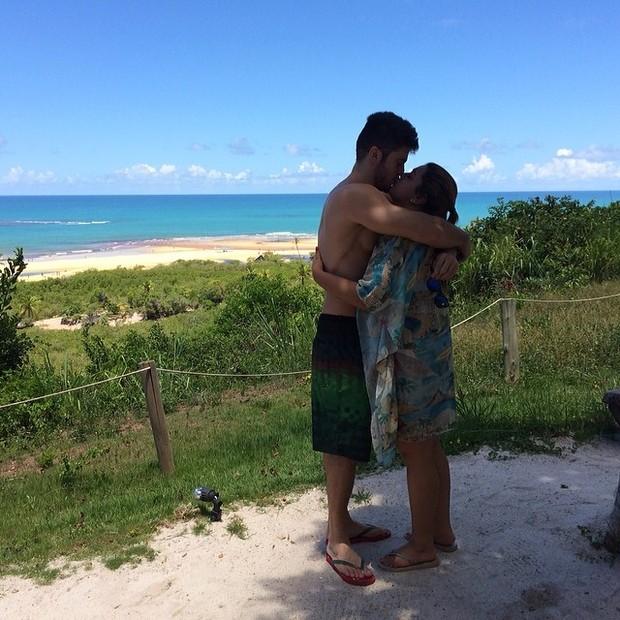 Preta Gil e o noivo (Foto: Reprodução/Instagram)