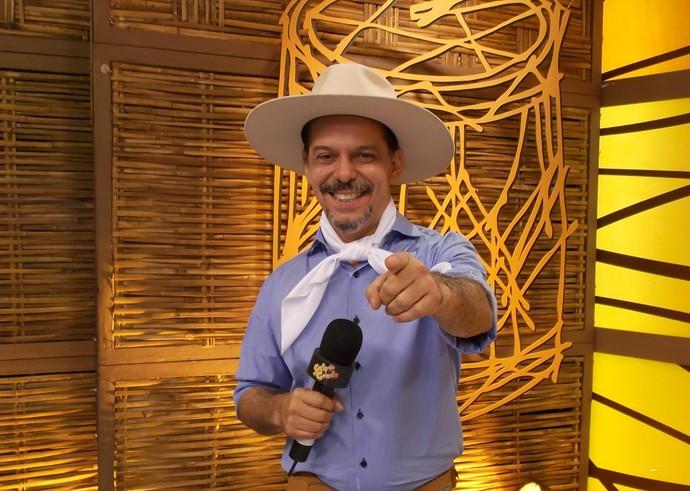 Neto Fagundes Galpão Crioulo (Foto: Leonice Sordi/RBS TV)