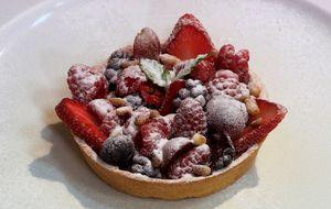 Tartelette de frutas vermelhas
