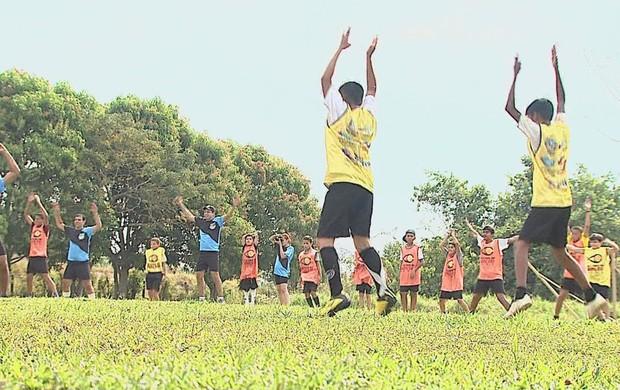 Acampamento Atletas de Cristo Acre  (Foto: Reprodução/TV Acre)