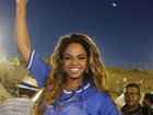 Rainha da Portela comemora título de campeã do Carnaval 2017