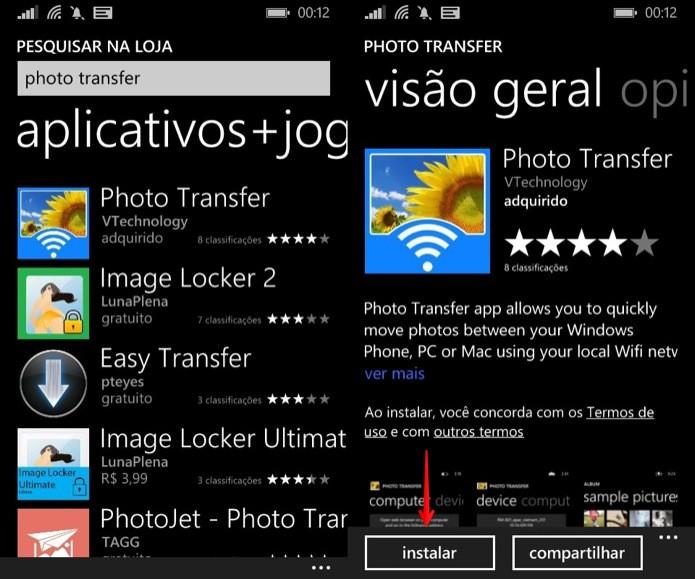 Instale o aplicativo em seu smartphone (Foto: Reprodução/Helito Bijora)