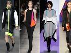 Casacos no estilo cobertor, toques de neon... Veja cinco tendências da semana de moda de Nova York