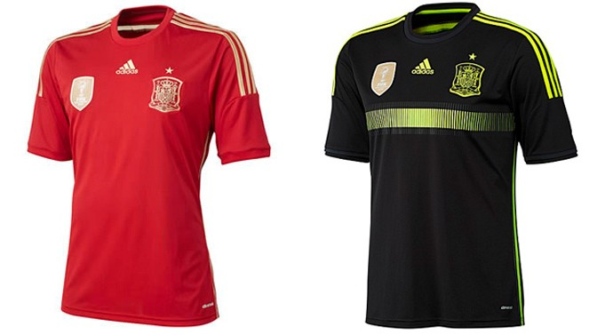 espanha camisa copa Every single World Cup kit (all 32 teams, home & away) on one page
