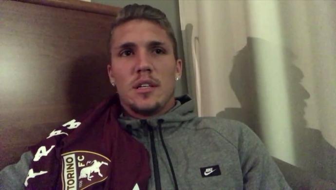 Lyanco, zagueiro do Torino (Foto: Reprodução SporTV)