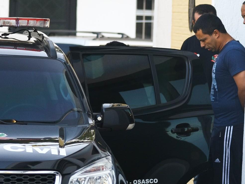 O prefeito eleito de Osasco, Rogério Lins, ficou cinco dias preso (Foto: ALOISIO MAURICIO/FOTOARENA/FOTOARENA/ESTADÃO CONTEÚDO)