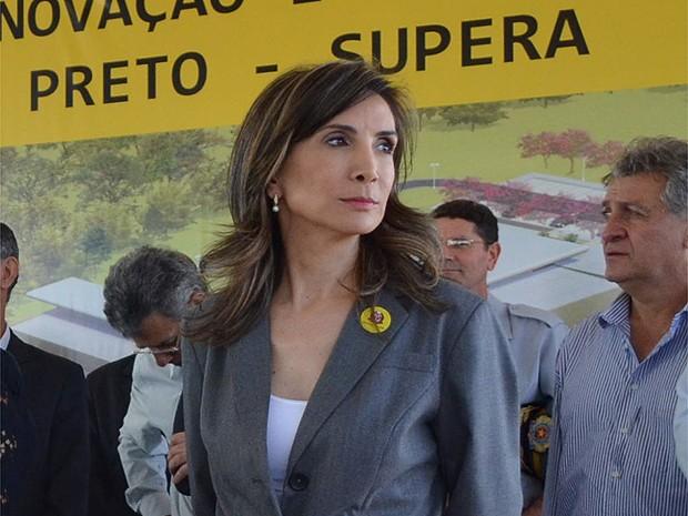 A prefeita de Ribeirão Preto, Dárcy Vera (PSD) (Foto: Adriano Oliveira/G1)