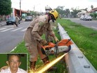 Delegado suspeita que idoso achado dentro de poste teve 'morte natural'
