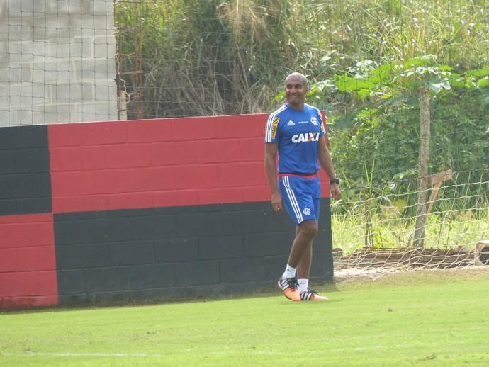Cristóvão Borges Flamengo (Foto: Richard Souza / GloboEsporte.com)