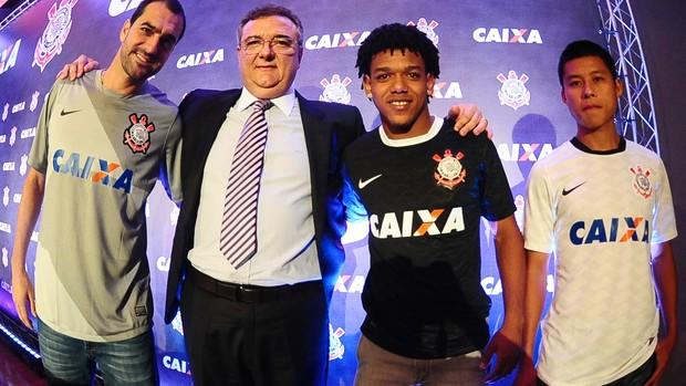Danilo, Mario Gobbi, Romarinho, Zizao, corinthians (Foto: Marcos Ribolli / Globoesporte.com)