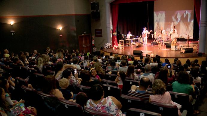 Teatro Infantil foi a pauta da Lu Gama (Foto: Divulgação / TV Gazeta ES)