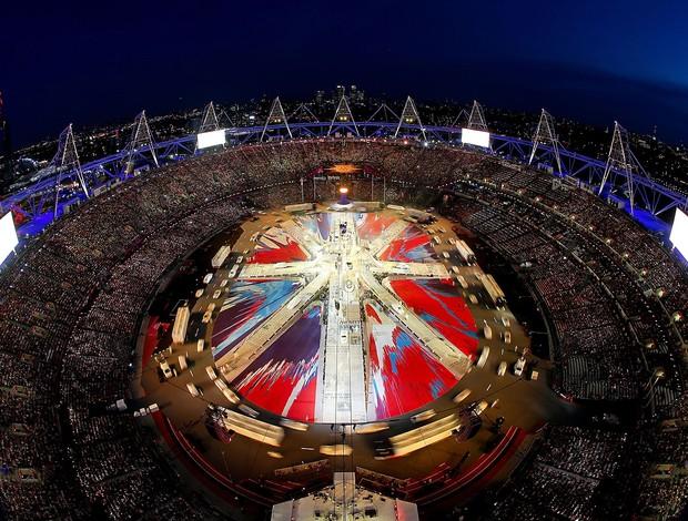 Encerramento de Londres, Olimpiadas (Foto: Agência Getty Images)