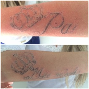 Bárbara Evans - Tatuagem  (Foto: Instagram / Reprodução)