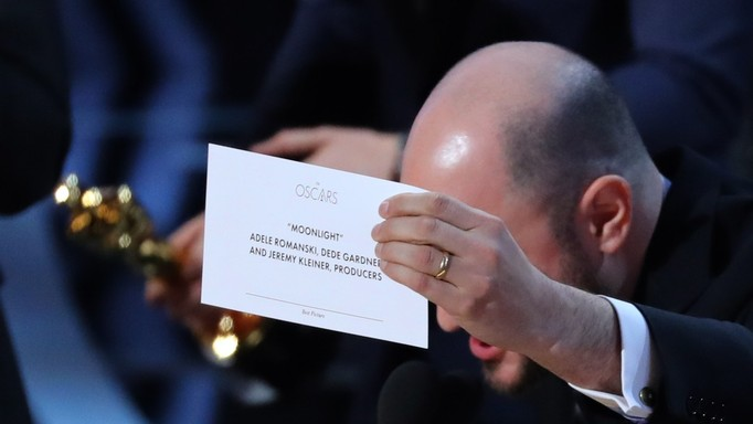 Jordon Horowitz produtor de La La Land confirma o Oscar para Moonlight