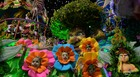 Tucuruvi viaja pela imaginação infantil (Nelson Almeida/AFP)