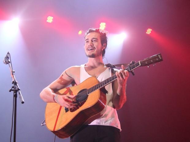 Tiago Iorc em show no Rio (Foto: Thyago Andrade/ Brazil News)