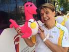 Rio 2016: David Brazil e Viviane Araújo conduzem tocha olímpica