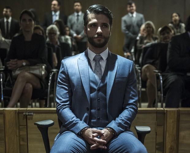 Bruno Gagliasso interpretando Edu em Dupla Identidade (Foto: Estevam Avellar / TV Globo)
