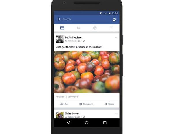 Facebook ganha novidades para funcionar sem conexão à internet (Foto: Divulgação/Facebook)