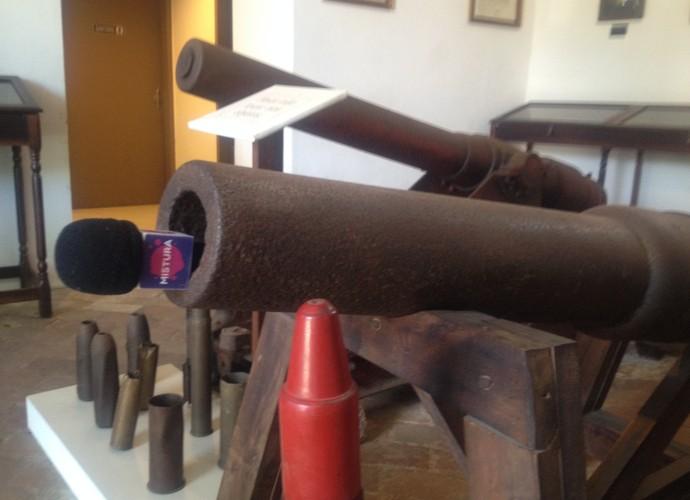 Mistura visitou museus catarinenses  (Foto: RBS TV/Divulgação)
