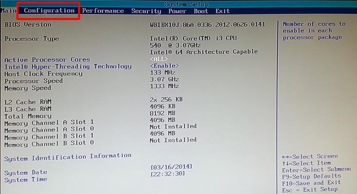 Procure pela aba com as principais configurações do computador (Foto: Reprodução/Daniel Ribeiro)