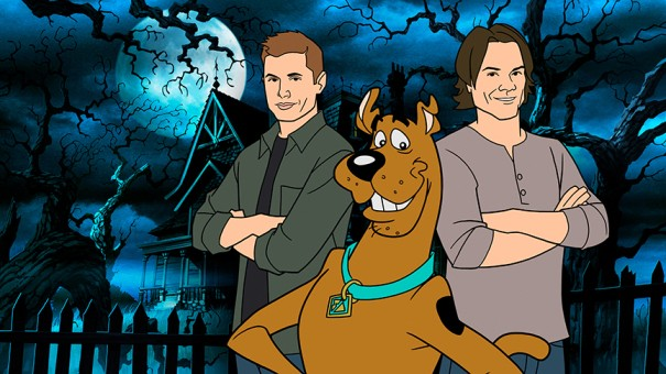 Crossover de Supernatural e Scooby-Doo (Foto: Divulgação)