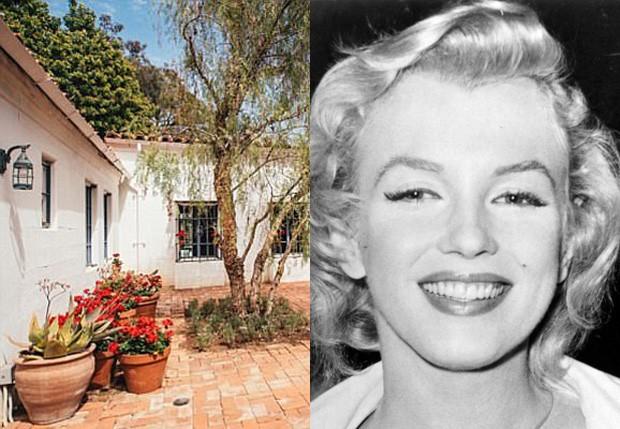 Mansão onde morreu Marilyn Monroe (Foto: Mercer Vine e Getty Images)