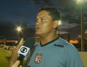 Técnico do Serra Talhada, Humberto Santos (Foto: Reprodução / TV Asa Branca)