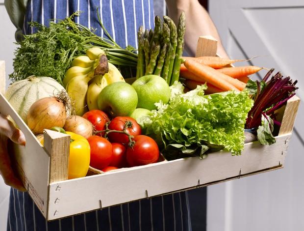 Vegetais, frutas, alimentos orgânicos euatleta (Foto: Getty Images)
