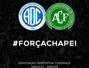 Confiança, Chapecoense (Foto: Divulgação/ADC)