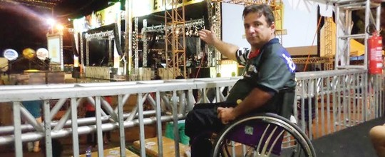 Camarote gratuito promove acessibilidade  na festa (Taciano Wanderley/Arquivo Pessoal)
