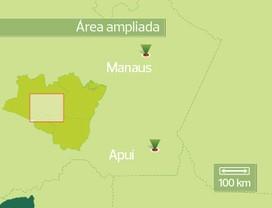 mapa-apui-amazonas (Foto: Felipe Yatabe)
