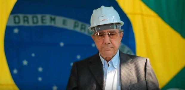 José Batista Sobrinho, fundador da JBS, conhecido como \'Zé Mineiro\' (Foto: Reprodução YoUTube JBS)