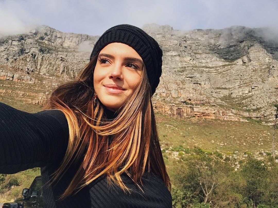 Giovanna Lancellotti na África do Sul (Foto: Reprodução Instagram)