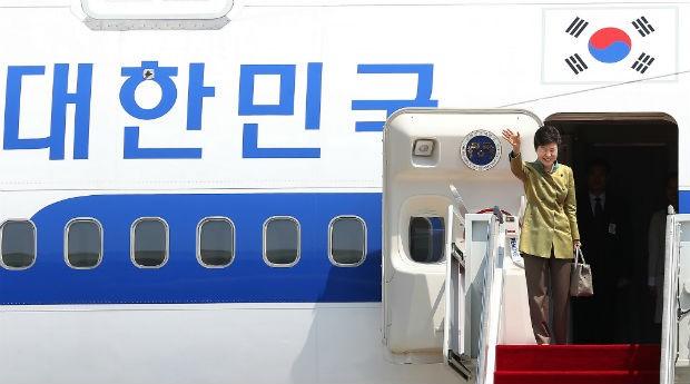 Park Geun-hye, presidente da Coreia do Sul (Foto: Divulgação)