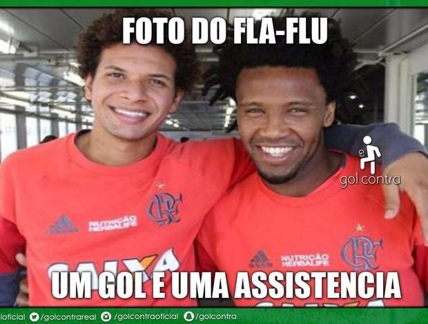 Zoação Flamengo x Fluminense Vaz e Arão